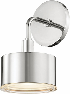 Mitzi H159101-PN Nora Contemporary Polished Nickel LED Light Sconce