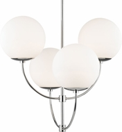 Mitzi H160804-PN Carrie Contemporary Polished Nickel Lighting Chandelier