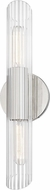 Mitzi H177102S-PN Cecily Contemporary Polished Nickel Light Sconce
