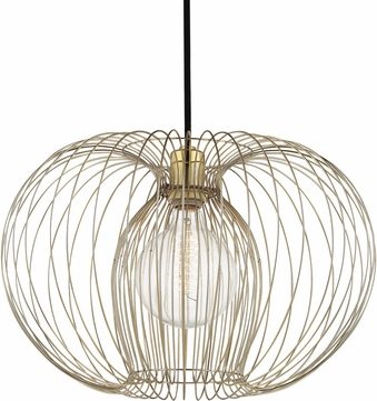 Mitzi H181701L-PB Jasmine Modern Polished Brass Pendant Hanging Light