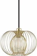 Mitzi H181701S-PB Jasmine Contemporary Polished Brass Drop Ceiling Lighting