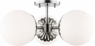 Mitzi H193603-PN Paige Modern Polished Nickel Ceiling Light Fixture