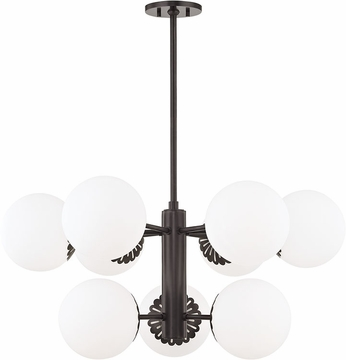 Mitzi H193809-OB Paige Contemporary Old Bronze Chandelier Light