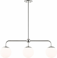 Mitzi H193903-PN Paige Contemporary Polished Nickel Kitchen Island Light