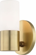 Mitzi H196101-AGB Lola Modern Aged Brass LED Wall Sconce