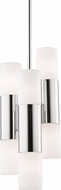Mitzi H196706-PN Lola Contemporary Polished Nickel LED Mini Drop Ceiling Lighting