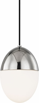 Mitzi H206701S-PN Orion Contemporary Polished Nickel 7.5  Mini Ceiling Pendant Light