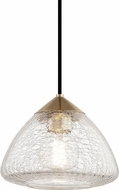 Mitzi H216701S-AGB Maya Contemporary Aged Brass Mini Pendant Lighting