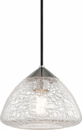 Mitzi H216701S-PN Maya Modern Polished Nickel Mini Pendant Light