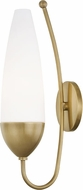 Mitzi H262101-AGB Amee Modern Aged Brass Light Sconce
