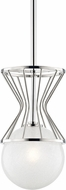Mitzi H267701-PN Petra Contemporary Polished Nickel Xenon Mini Lighting Pendant