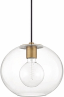 Mitzi H270701L-AGB Margot Modern Aged Brass Pendant Lighting