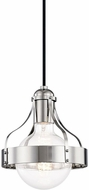 Mitzi H271701-PN Violet Modern Polished Nickel Mini Hanging Pendant Lighting