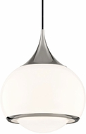 Mitzi H281701L-PN Reese Modern Polished Nickel Ceiling Light Pendant