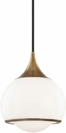 Mitzi H281701S-AGB Reese Modern Aged Brass Mini Pendant Lighting
