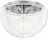 Mitzi H284501L-PN Grace Contemporary Polished Nickel Flush Mount Lighting Fixture