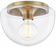Mitzi H284501S-AGB Grace Modern Aged Brass Home Ceiling Lighting
