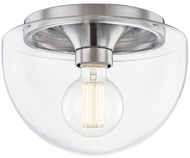 Mitzi H284501S-PN Grace Contemporary Polished Nickel Overhead Light Fixture