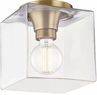 Mitzi H284501SQS-AGB Grace Modern Aged Brass Ceiling Light