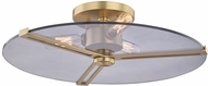 Mitzi H292503-AGB Boni Modern Aged Brass Ceiling Lighting Fixture