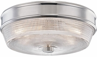 Mitzi H309501-PN Lacey Modern Polished Nickel Flush Mount Ceiling Light Fixture