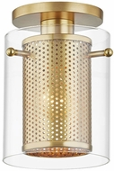 Mitzi H323601-AGB Elanor Contemporary Aged Brass Ceiling Lighting