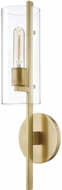Mitzi H326101-AGB Ariel Contemporary Aged Brass Wall Sconce