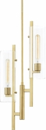 Mitzi H326702-AGB Ariel Contemporary Aged Brass Mini Pendant Lighting