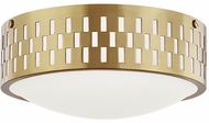 Mitzi H329502S-AGB Phoebe Contemporary Aged Brass Ceiling Light Fixture