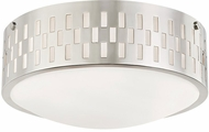 Mitzi H329502S-PN Phoebe Contemporary Polished Nickel Ceiling Light Fixture