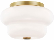 Mitzi H350502-AGB Hazel Contemporary Aged Brass Home Ceiling Lighting