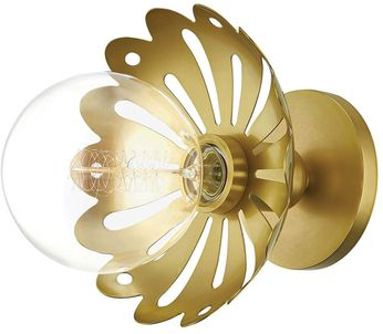 Mitzi H353101-AGB Alyssa Contemporary Aged Brass Wall Sconce Lighting
