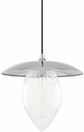 Mitzi H365701L-PN Lana Contemporary Polished Nickel 15  Hanging Lamp