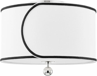 Mitzi H381602-PN Zara Modern Polished Nickel Ceiling Light