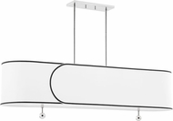 Mitzi H381905-PN Zara Modern Polished Nickel Kitchen Island Light