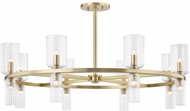 Mitzi H384816-AGB Tabitha Contemporary Aged Brass Lighting Chandelier
