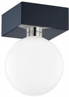 Mitzi H385501-NVY Aspyn Contemporary Navy Ceiling Lighting Fixture