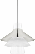 Mitzi H404701L-PN Jessy Contemporary Polished Nickel Ceiling Pendant Light