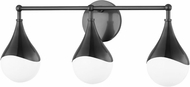 Mitzi H416303-OB Ariana Contemporary Old Bronze LED 3-Light Lighting For Bathroom