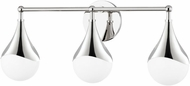 Mitzi H416303-PN Ariana Modern Polished Nickel LED 3-Light Bath Lighting
