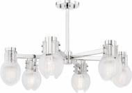 Mitzi H417806-PN Jenna Contemporary Polished Nickel Ceiling Light Fixture