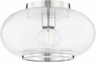 Mitzi H418501-PN Maggie Modern Polished Nickel Flush Mount Lighting