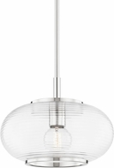 Mitzi H418701-PN Maggie Contemporary Polished Nickel Ceiling Pendant Light