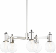 Mitzi H419805-PN Bryce Contemporary Polished Nickel Flush Lighting