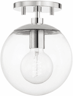 Mitzi H503601-PN Meadow Contemporary Polished Nickel Flush Mount Lighting