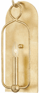 Mitzi H512101-GL Mallory Modern Gold Leaf Candle Wall Sconce