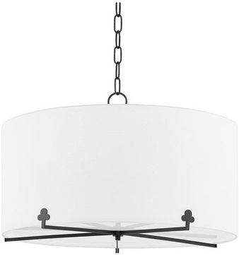 Mitzi H519805-OB Darlene Old Bronze Drum Drop Ceiling Light Fixture