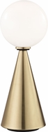 Mitzi HL148201L-AGB-BK Piper Contemporary Aged Brass / Black LED Table Lighting