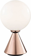 Mitzi HL148201S-POC-BK Piper Modern Polished Copper / Black LED Table Lamp
