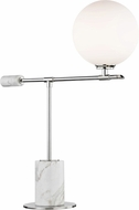 Mitzi HL152201-PN Bianca Modern Polished Nickel LED Table Lighting